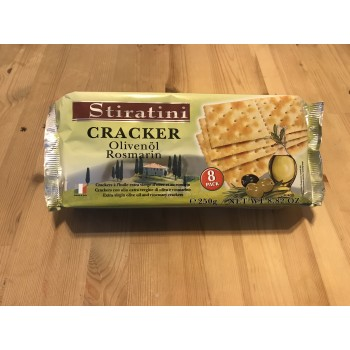 Crackers OliveOil/Rosmarin