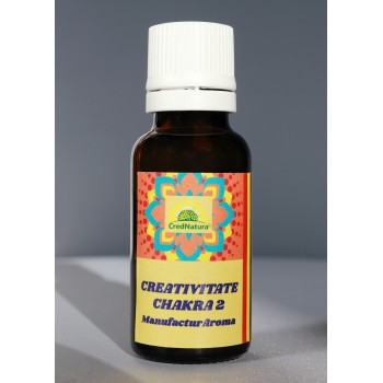 CREATIVITATE /Ulei Chackra 2 20 ml